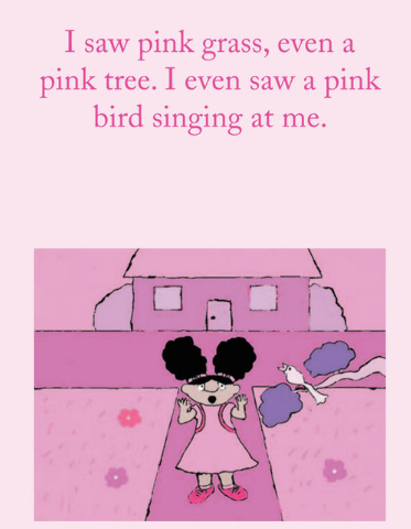 "A fairy's blink leads to a world of pink in ""I Love the Color Pink! The Adventures of Laci Macasey."" (Special to View)"