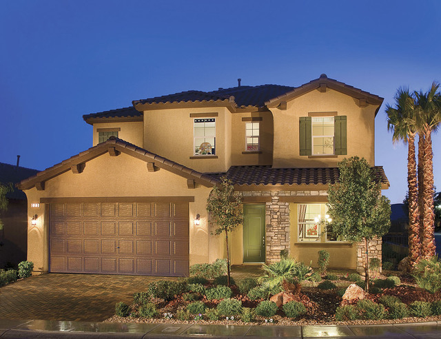 Courtesy photo The Geneva 3012 design is one of the most popular model homes at Rhodes Ranch.