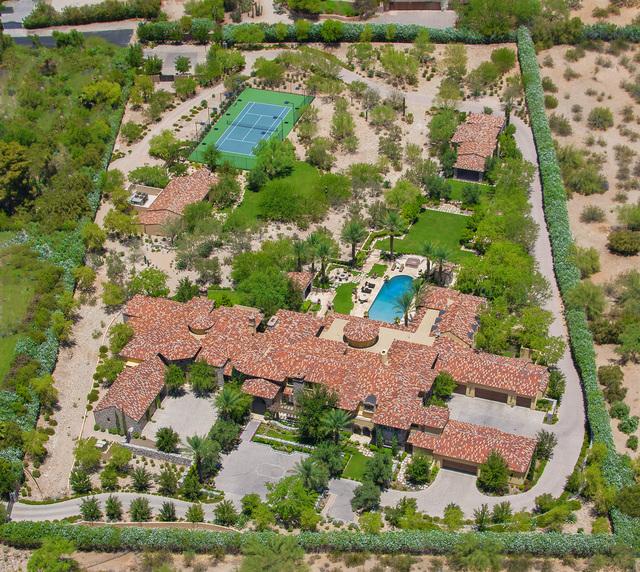 Courtesy photo  Baseball great Randy Johnson has listed his 5-acre Arizona estate for $25 million.
