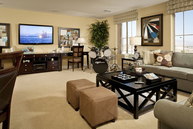 Courtesy photo Pictured is the Plan Four model home bonus room at Pardee Homes' LivingSmart® Homes Providence in northwest Las Vegas. The final inventory homes are now offered at the neighborho ...