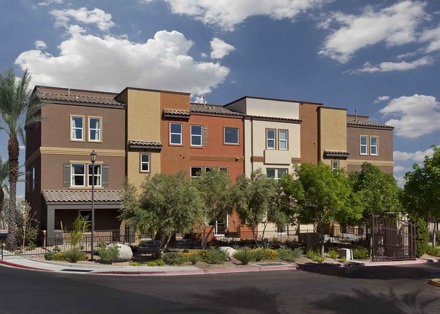 Ryland Showcases New Townhome Collection Las Vegas Review