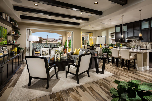 Courtesy photo Toll Brothers' Trapani floor plan is one of the three single-story home designs offered at Bellante.