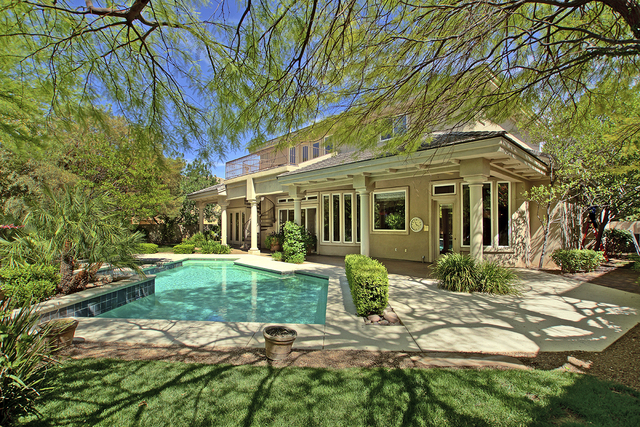 This Summerliln home at 9416 Tournament Canyon Drive in Canyon Fairways was recently listed for $1.5 million.