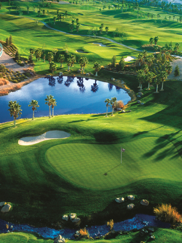 Courtesy photo The award-winning Rhodes Ranch golf course in southwest Las Vegas.