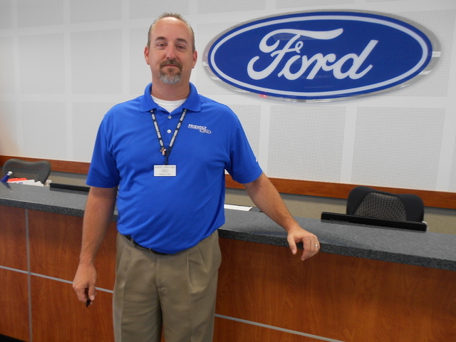 Friendly Ford General Sales Manger Steve Crevling moved to Las Vegas 11 years ago.