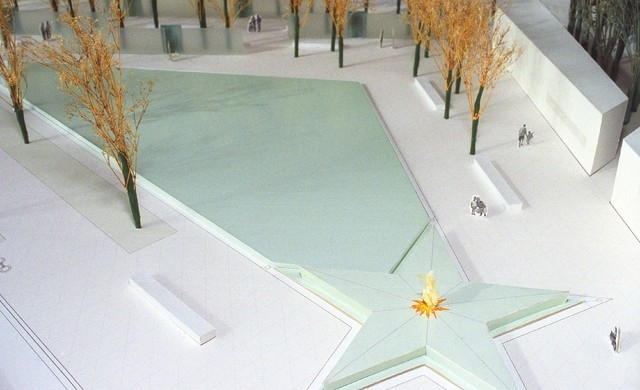 Artist's rendering, the American Veterans Disabled for Life Memorial which opens Oct. 5 in Washington, D.C. (COURTESY)