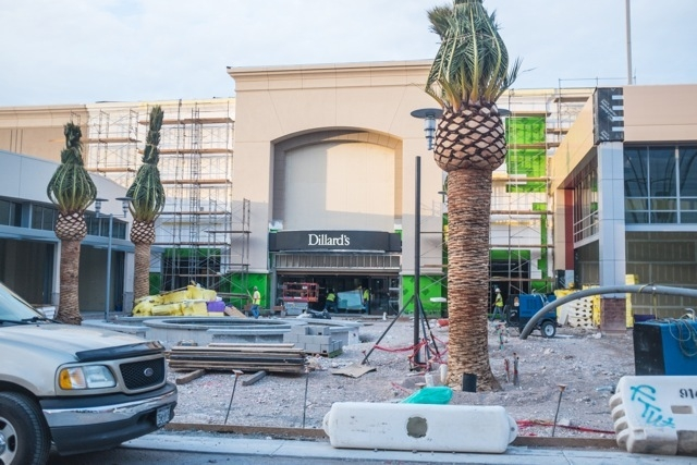 As progress on Downtown Summerlin continues, the signs for the two anchor stores, Macy's and Dillard's, have been added to their respective buildings, as seen in these photos from early July. The  ...