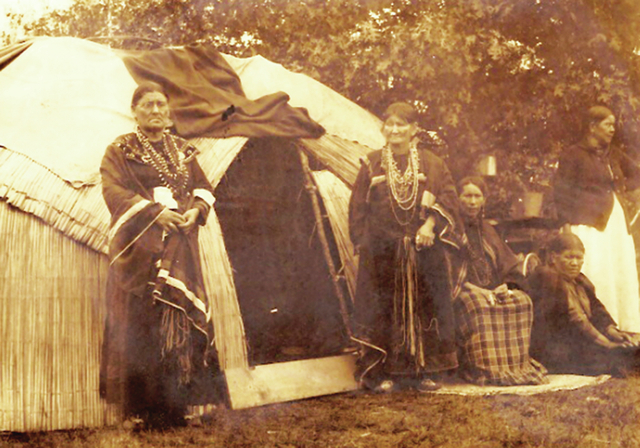 Harmon Percy Marble was the mayor of Las Vegas for a year, but he is better known as a photographer of Native Americans, including this picture of Menominee taken between 1910 and 1926. (Special t ...