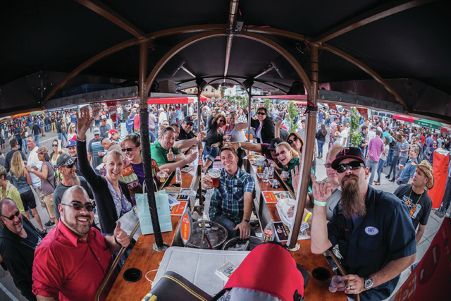 The Great Vegas Festival of Beer took place April 26 on several closed-off streets near the Fremont East Entertainment  District. Motley Brews, which organized the event, plans a similar one Aug.  ...