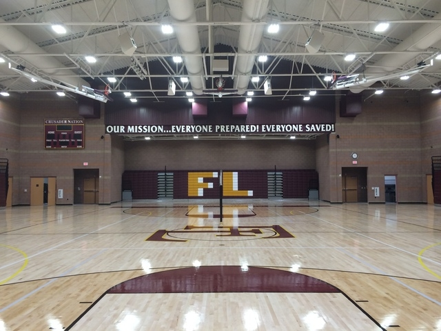 Faith Lutheran Middle School and High School recently debuted its Crusader Competition Center, a 26,000-square-foot gym that will host high school basketball, wrestling and volleyball competitions ...