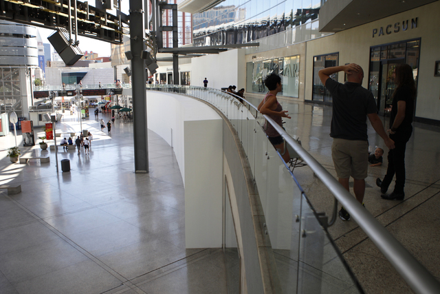 Fashion Show in Las Vegas is seen on Tuesday, Aug. 26, 2014. Fashion Show is planning an expansion and redevelopment near their Strip entrance. (Erik Verduzco/Las Vegas Review-Journal)