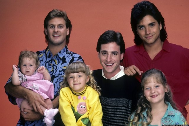 """The cast of """"Full House."""" (ABC)"""