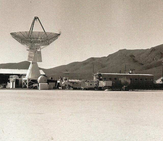Groom Lake Radar, 1968.  (Courtesy TD Barnes)