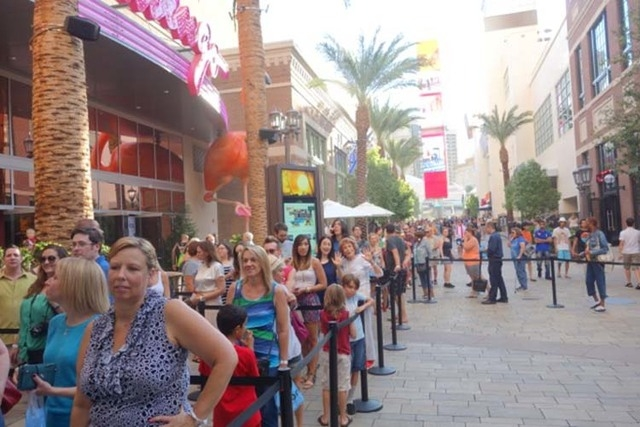 Internet sensation Grumpy Cat was greeted by a large crowd for her book tour stop at Kitson at The Linq. The line stretched out to the Strip. More than 500 fans were waiting when the doors opened  ...