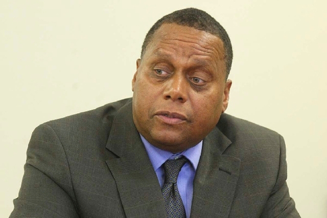 Southern Nevada Regional Housing Authority Executive Director John Hill. (Review-Journal File Photo)