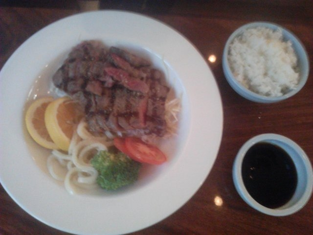 Meats such as rib eye and chicken are also on the menu at Ichiban West, 5025 S. Fort Apache