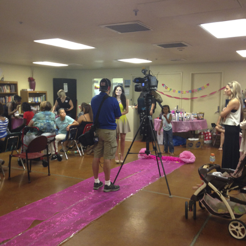 Miss Henderson Nevada USA Mariah Armknecht hosted an inner beauty event for women of the Shade Tree July 29, 2014. The women residing at the Shade Tree were able to enjoy a day of pampering from l ...