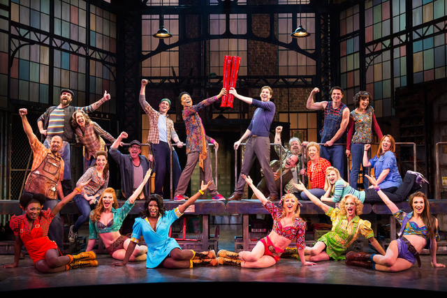 """A scene from the Tony-winning Broadway musical """"Kinky Boots."""" A new cast opens the show's national tour Thursday at The Smith Center for the Performing Arts. (Courtesy photo)"""