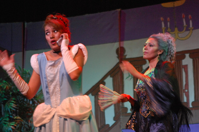 """The Spanish-language """"La Madrasta del la Cenisenta"""" -- a 21st-century spin on """"Cinderella"""" -- will be presented this weekend and next at the Winchester Cultural Center. Courtesy photo."""