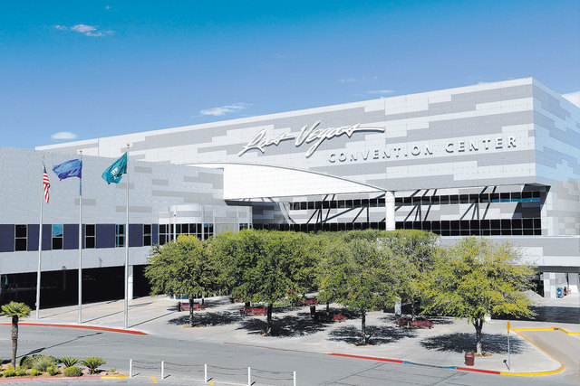 The Las Vegas Convention and Visitors Authority is acquiring land south of the Convention Center in its bid to transform the campus into the Las Vegas Global Business District. (Courtesy/Darrin Bu ...