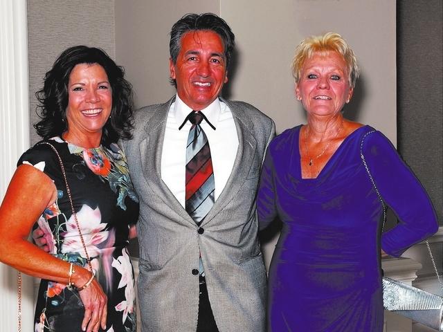 Left to right, Linda and Tony Bonnici and Jeri Bonnici