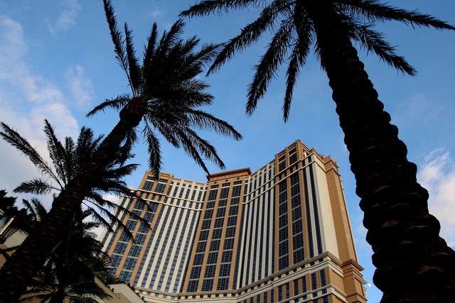 A man suffered first- and second-degree burns Friday morning in a kitchen fire at the Grand Lux Cafe inside the Palazzo. (Jeff Scheid/Las Vegas Review-Journal file)
