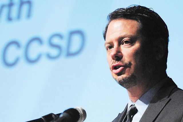 Clark County Schools Superintendent Pat Skorkowsky announced on Wednesday the addition of seven new magnet programs and five Select Schools in 2015-16. (Erik Verduzco/Las Vegas Review-Journal file)