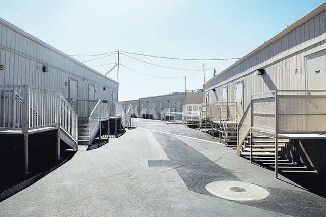 The Clark County School District will ask the state for $3.92 million to buy 60 portable classrooms. (Caitlyn Belcher/View, file)