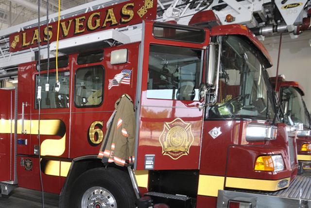Las Vegas Fire Department (Bill Hughes/Las Vegas Review-Journal)