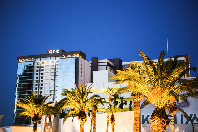 SLS Las Vegas on the corner of Las Vegas Boulevard and Sahara Avenue as seen Wednesday, Aug. 6, 2014. (Jeff Scheid/Las Vegas Review-Journal)