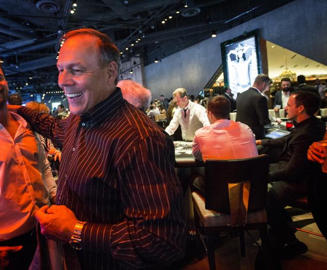 Joe Terzi CEO, president of San Diego Tourism Authority during the opening SLS Las Vegas  on Saturday, Aug. 23, 2014. The $415 million  development on the corner of Sahara Avenue and Las Vegas Bou ...