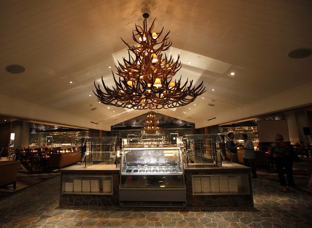 A Chandelier Inside The Sls Buffet In Las Vegas On Thursday August 7 2017