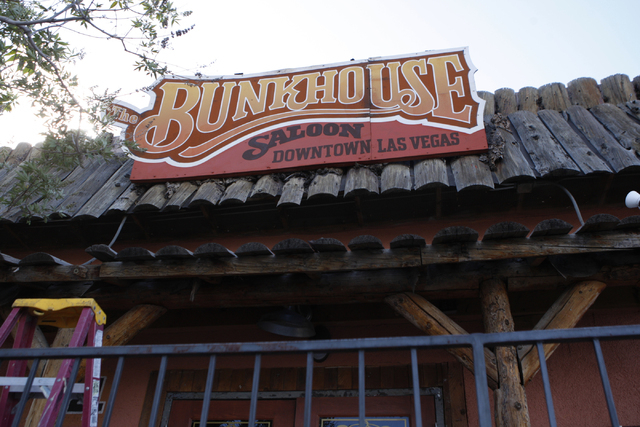 Bunkhouse Saloon, 124 S. 11th St. in Las Vegas, is seen on Tuesday, Aug. 19, 2014. The re-opening of Bunkhouse Saloon is scheduled for Aug. 25. (Erik Verduzco/Las Vegas Review-Journal)