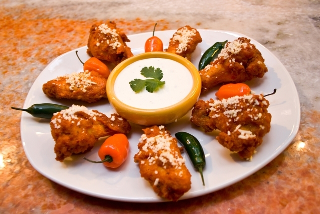 Habanero Hot Wings from Tacos & Tequila, Luxor (Courtesy)