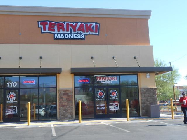 Teriyaki Madness, 6171 N. Decatur Blvd., Suite 110. (Jan Hogan/View)