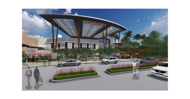 Rendering of Galleria at Sunset post-construction. (Courtesy)