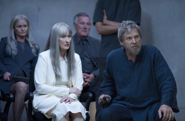 """Meryl Streep and Jeff Bridges star in """"The Giver."""" (Courtesy, The Weinstein Company)"""