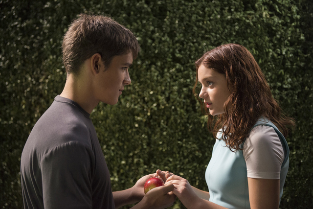 "Brenton Thwaites and Odeya Rush star in ""The Giver,"" based on the 1993 novel by Lois Lowry and produced by Jeff Bridges. (Courtesy, The Weinstein Company)"