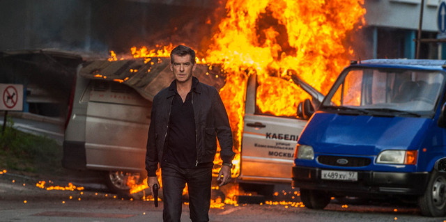"Pierce Brosnan stars as a former CIA agent who's called out of a peaceful retirement to face off with his former protege in Relativity Media's ""The November Man."" (Aleksandar Letic/Courtesy)"