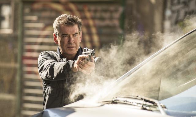 """Pierce Brosnan stars in Relativity Media's """"The November Man."""" (Aleksandar Letic/Courtesy)"""