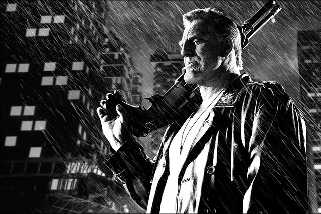"Mickey Rourke stars as Marv in ""Sin City: A Dame to Kill For."" (Courtesy The Weinstein Company)"