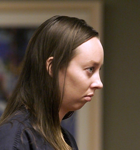 Melissa Hack is shown in this Sept. 4, 2002, file photo. (Las Vegas Review-Journal)
