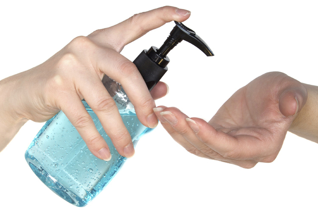 A survey says people who used hand sanitizer while abroad were half as likely to have their trips spoiled by diarrhea and/or vomiting. (Thinkstock)