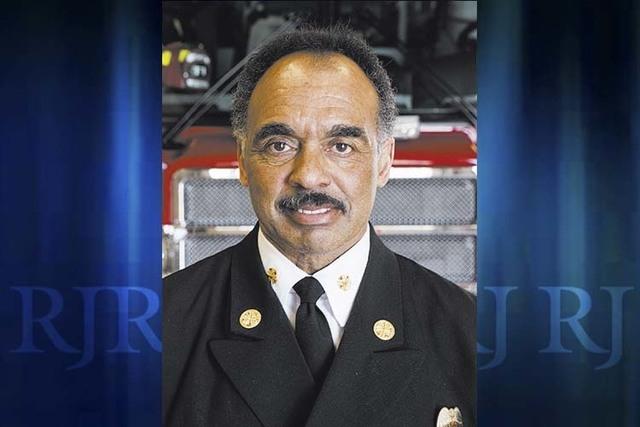 City of Las Vegas Fire Chief William McDonald (Jeff Scheid/Las Vegas Review-Journal)