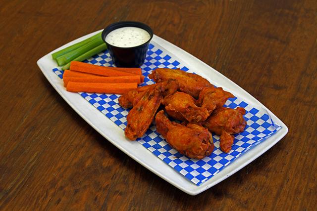 Chicken wings at  J.C. Wooloughan's Irish Pub, JW Marriott (Courtesy)