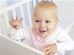 Dry bottoms and rockin' tunes: The recipe for happy babies, survey says