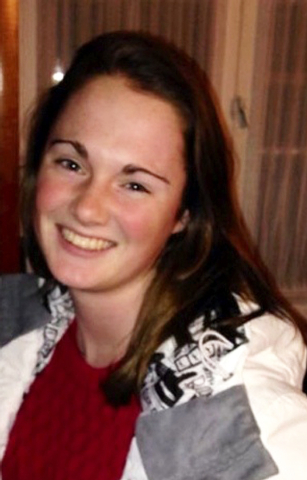 Missing University of Virginia student Hannah Elizabeth Graham is seen in an undated photo provided by the Charlottesville, Virginia, Police Department. University of Virginia President Teresa A.  ...