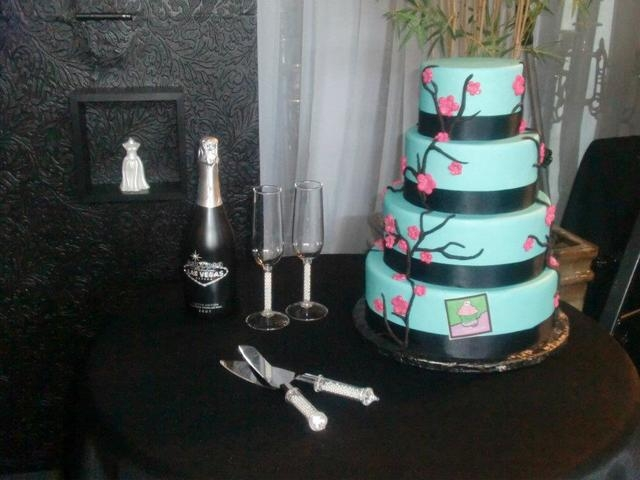 A cake created by Michelle Curran, better known as Chef Mitchie, is displayed at an event last year. (Special to View)