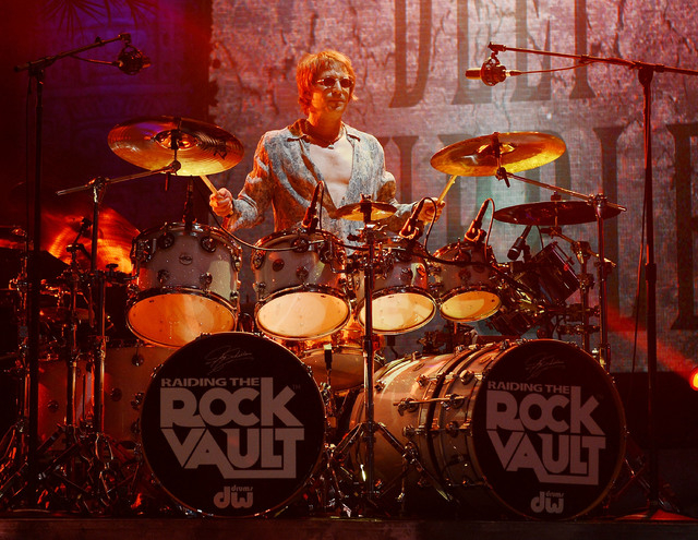 "Jay Schellen performs in ""Raiding the Rock Vault."" (Photo by Denise Truscello/WireImage)"