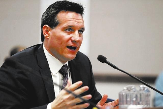 Ross Miller. (File, Las Vegas Review-Journal)